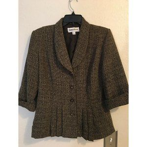 nicole miller jacket blouse 8 bust 34 length 24